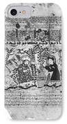 Snake Healers, 12th Century IPhone Case