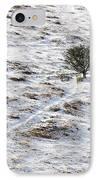 Snow On Moorland IPhone Case