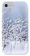 Snowy Trees IPhone Case by Elena Elisseeva