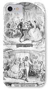 Social Activities, 1861 IPhone Case by Granger