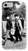 Soldiers March Black And White II IPhone Case