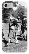 Soldiers March Black And White IIi IPhone Case by LeeAnn McLaneGoetz McLaneGoetzStudioLLCcom