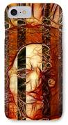 Solitary Man IPhone Case by Stuart Turnbull