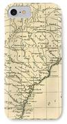 Southeast Coast Of America IPhone Case by Guillaume Raynal
