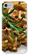 Spaghetti With Sauce IPhone Case by Susan Leggett