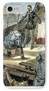 Spanish Armada IPhone Case by Granger