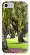Spanish Moss At Jekyll Island IPhone Case