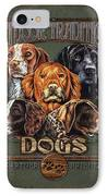 Sporting Dog Traditions IPhone Case
