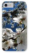 Spring Pear Blossoms 2012 IPhone Case by Joyce Dickens
