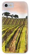 Spring Vineyard IPhone Case by Sharon Foster