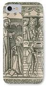St. Catherine, Italian Philosopher IPhone Case by Science Source
