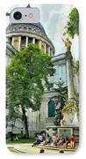 St Paul Is Giving His Blessing IPhone Case by Steve Taylor