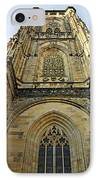 St Vitus Cathedral Prague - The Realms Of 'non-being' IPhone Case