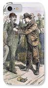 Stagecoach Robbery, 1880s IPhone Case by Granger