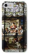 Stained Glass Family Giving Thanks IPhone Case