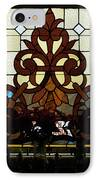 Stained Glass Lc 16 IPhone Case by Thomas Woolworth