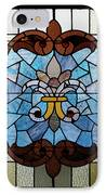 Stained Glass Lc 19 IPhone Case by Thomas Woolworth