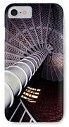 Stairs To The Light IPhone Case by Skip Willits