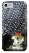 Star Trails Over Parkes Observatory IPhone Case by Alex Cherney, Terrastro.com