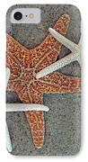 Starfish Three IPhone Case by Sandi OReilly