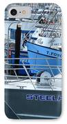 Steelhead And Fishing Boats IPhone Case