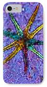 Stellate Plant Hair, Light Micrograph IPhone Case