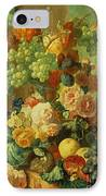 Still Life With Fruit And Flowers IPhone Case