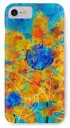 Stimuli Floral S01 IPhone Case by Variance Collections