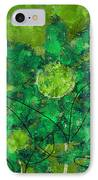 Stimuli Floral -s11bt01 IPhone Case by Variance Collections