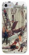 Storming Of Castle IPhone Case by Granger