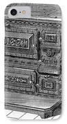 Stove, 1876 IPhone Case