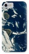 Stratus Cloud Formations Over Canary IPhone Case by Nasa