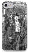 Streetcar, 1876 IPhone Case by Granger
