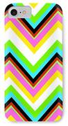 Stripe IPhone Case by Louisa Knight