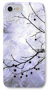 Sudden Snowstorm IPhone Case