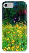 Sunflowers And Grasses IPhone Case