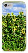Sunflowers In France IPhone Case by Joan  Minchak