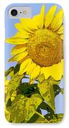 Sunflowers In Morning IPhone Case