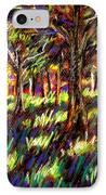 Sunlight Through The Trees IPhone Case by John  Nolan