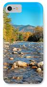 Sunrise Over The Saco Vertical IPhone Case by Geoffrey Bolte
