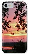 Sunset Over Canyon Lake IPhone Case