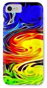 Sunset Swirl IPhone Case by Stephen Younts