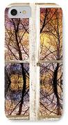 Sunset Tree Silhouette Colorful Abstract Picture Window View IPhone Case by James BO  Insogna