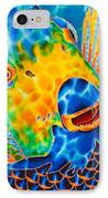 Sunshine Angelfish IPhone Case by Daniel Jean-Baptiste