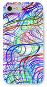 Superstrings, Conceptual Artwork IPhone Case by Mehau Kulyk