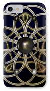 Swirly Brooch IPhone Case