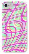 Swirly Check IPhone Case
