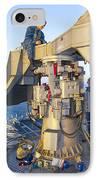 Technicians Perform Maintenance IPhone Case by Stocktrek Images