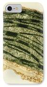 Tem Of A Chloroplast From A Tobacco Leaf IPhone Case