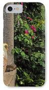 Temple And Garden Urn, The Wild Garden IPhone Case